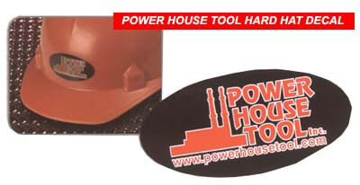 PHT hard hat decal